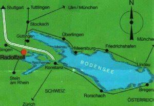 Anfrage Ferienwohnung Bodensee Anreise nach Radolfzell